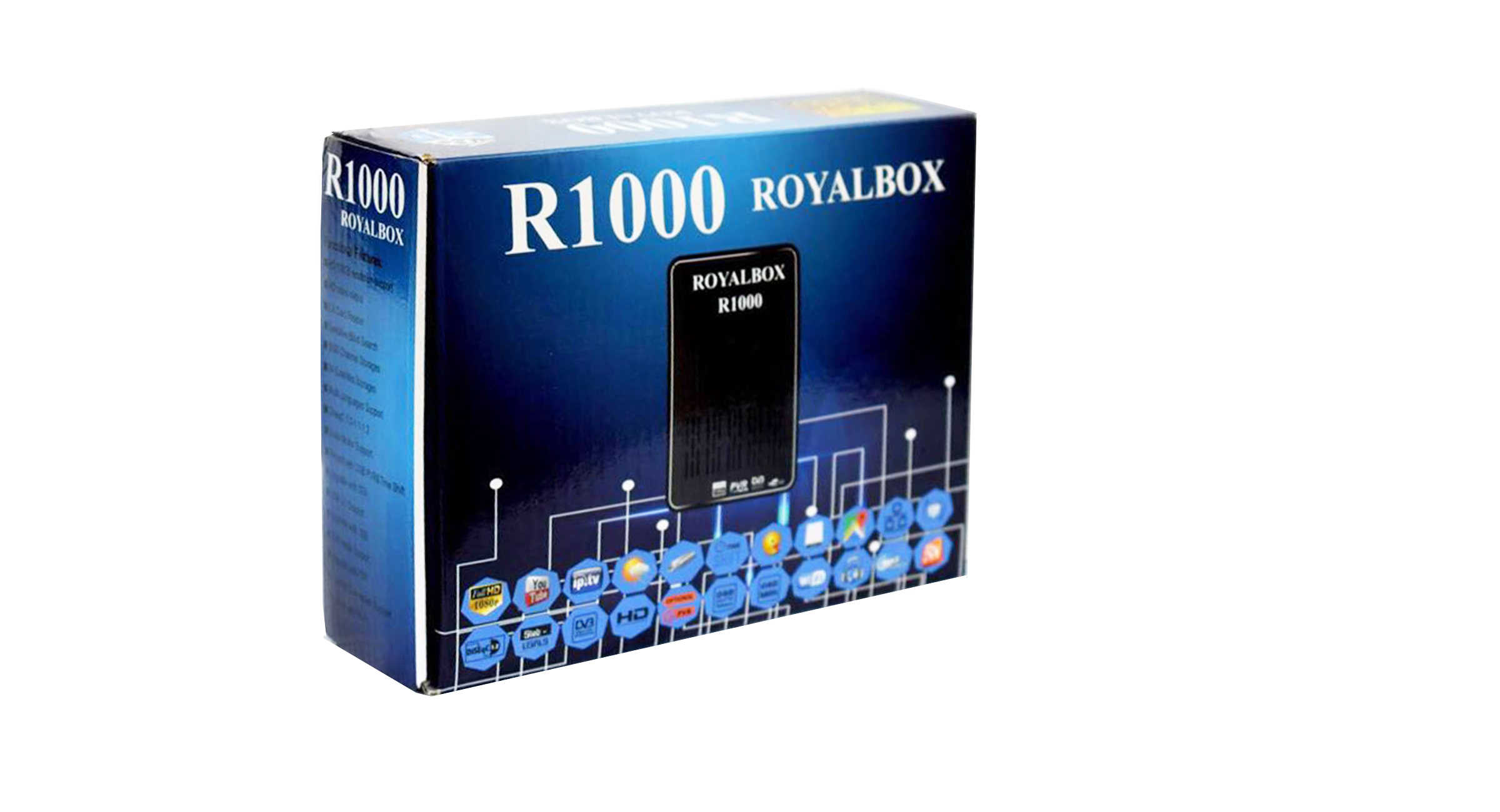 R 1000 Box With 12M Royal IPTV Subscription
